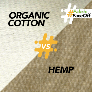 Fabric Faceoff Round 4 - hemp vs. organic cotton