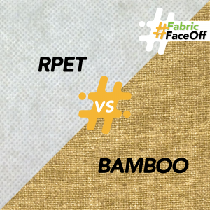 Green Story Fabric Faceoff round 2: Recycled PET vs. Bamboo