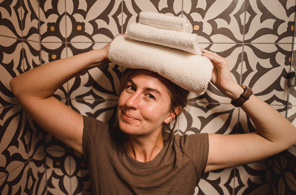 Green Stories: Brianna Kilcullen's path to sustainable towels