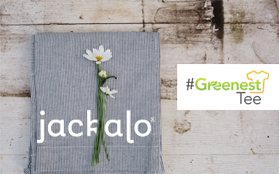 Who Makes the #GreenestTee? Hello, Jackalo!