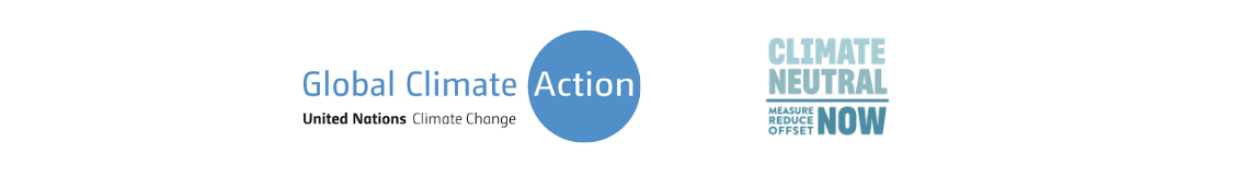 United Nations Climate Change and Climate Neutral Now Logo